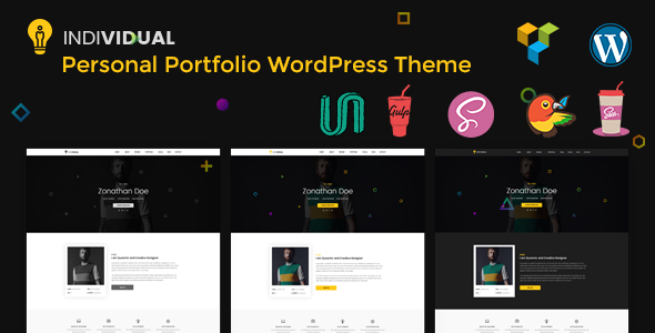 Particular person – Minimal Deepest Portfolio WordPress Theme – WP Theme Download
