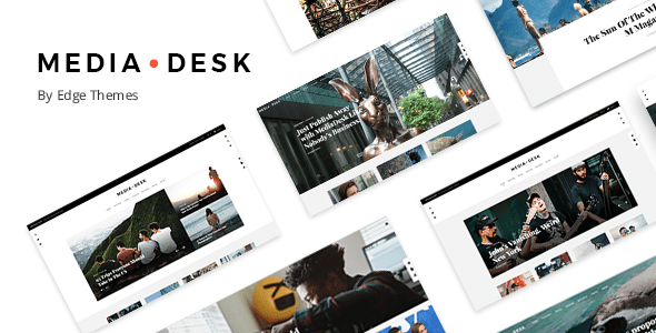 MediaDesk – Magazine WordPress Theme – WP Theme Download