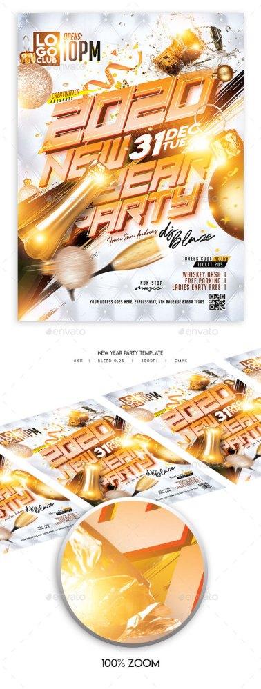 Flyers PSD – Recent 365 days Celebration Flyer – Download