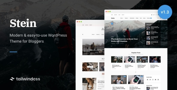 Stein ~ Weblog & Magazine WordPress Theme – WP Theme Download