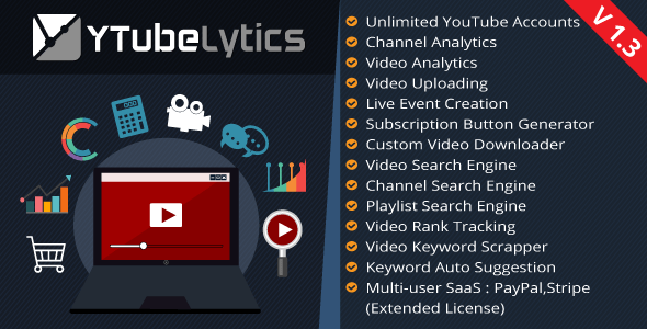 YTubeLytics – Youtube Analytics & Advertising and marketing Instrument – PHP Script Download