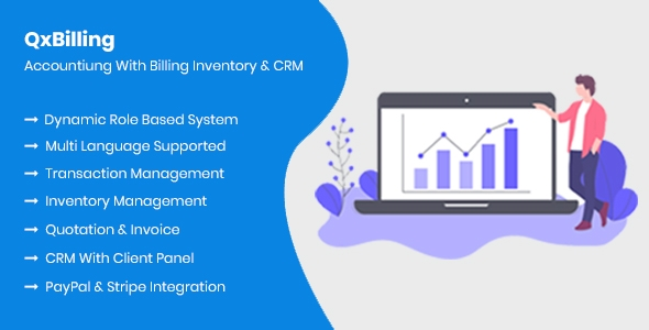 QxBilling – Accounting With Stock Billing & CRM – PHP Script Download