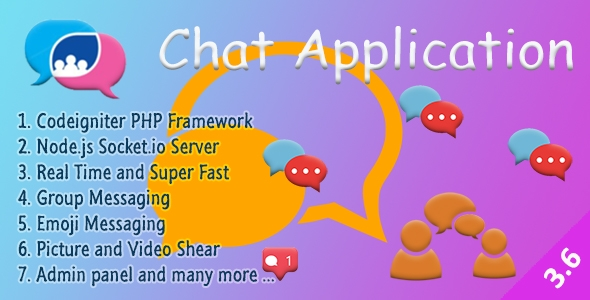 Chat Manager – Codeigniter ( Socket.io) Node.js – PHP Script Download