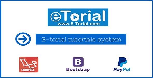 Laravel Video Tutorials System – E-torial – PHP Script Download