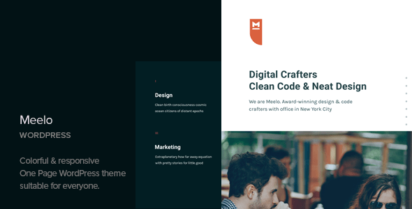 Meelo – Corporate One Web page WordPress Theme – WP Theme Download