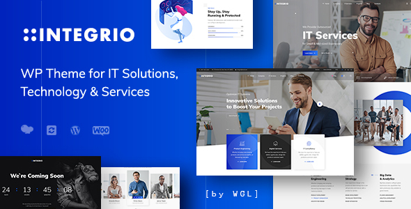 Integrio – IT Options and Services and products Company WordPress Theme  – WP Theme Download