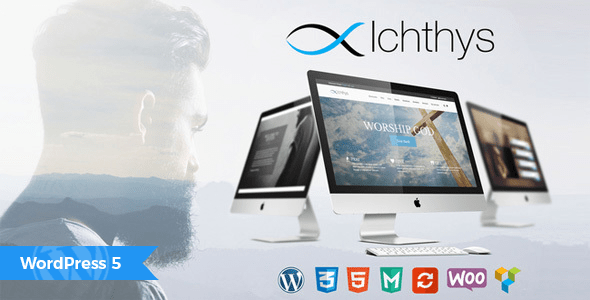 Ichthys – Church WordPress Theme – WP Theme Download