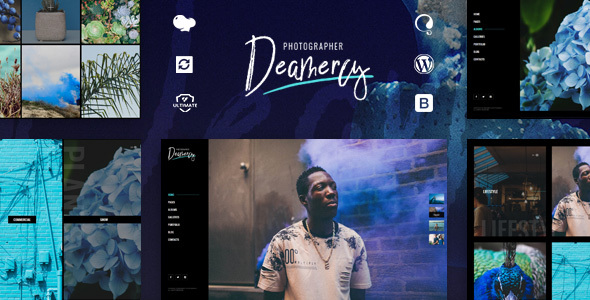 Deamercy – Pictures Portfolio WordPress Theme – WP Theme Download