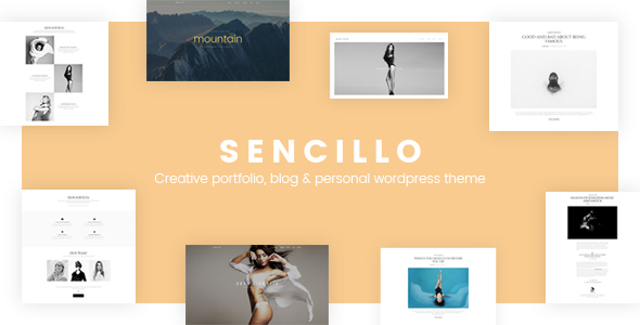 SENCILLO – Inventive Portfolio/Weblog/Inner most WordPress Theme – WP Theme Download