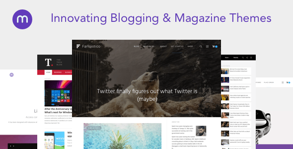 Magazine3 WordPress Theme – WP Theme Download