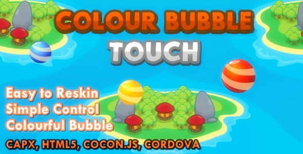 Coloration Bubble Touch – PHP Script Download