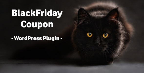BlackFriday Coupon – WordPress Plugin – PHP Script Download