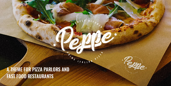 Don Peppe – Pizza and Hastily Meals Theme – WP Theme Download