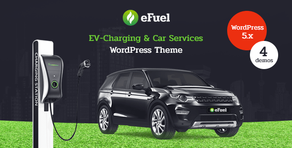 Efuel – Electrical Car Condominium & EV Charging WordPress Theme – WP Theme Download