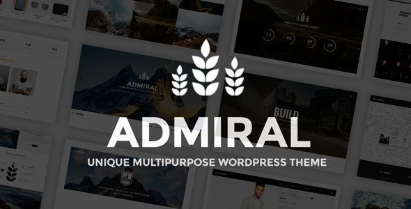 Admiral – Odd Multipurpose WordPress Theme – WP Theme Download