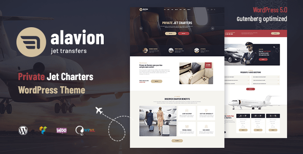 Alavion – Deepest Jet Charters WordPress Theme – WP Theme Download
