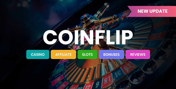 Coinflip – On line casino Affiliate & Playing WordPress Theme  – WP Theme Download