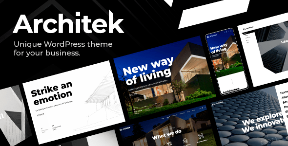Architek – Responsive Multi-Belief WordPress Theme – WP Theme Download