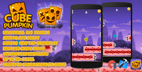Dice Pumpkin + Admob (IOS XCODE 8) More than one Characters – PHP Script Download