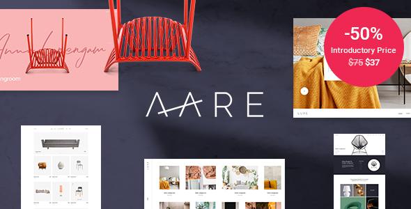 Aare – Furniture Retailer WordPress Theme – WP Theme Download