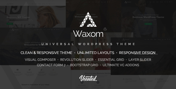 Waxom – Clear & Neatly-liked WordPress Theme – WP Theme Download