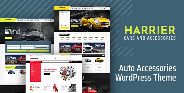 Harrier – Automobile Provider and Automotive WordPress Theme – WP Theme Download
