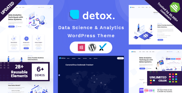 Detox – Files Science & Analytics WordPress Theme – WP Theme Download