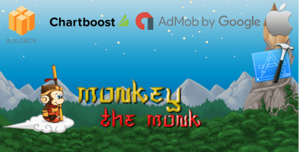 monkey the monk – Buildbox Sport Template + iOS Xcode Mission Template (BBDOC) – PHP Script Download