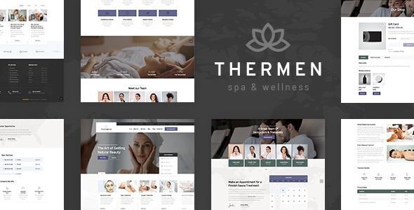 Thermen – Magnificence Spa & Wellness Center WordPress Theme – WP Theme Download