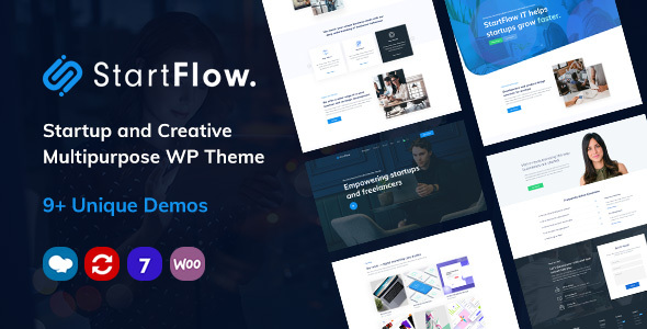 StartFlow | Responsive Multipurpose WordPress Theme – WP Theme Download