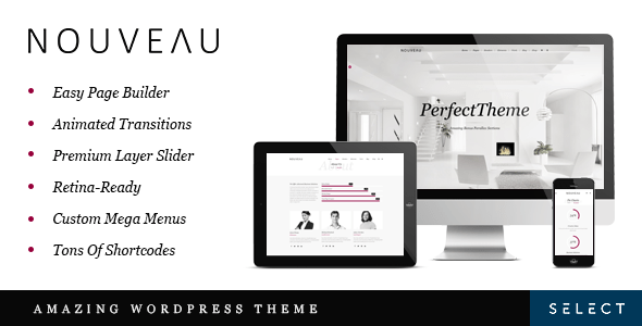 Nouveau – Multipurpose WordPress Theme – WP Theme Download