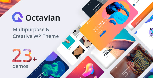 Octavian | Inventive Multipurpose WordPress Theme – WP Theme Download