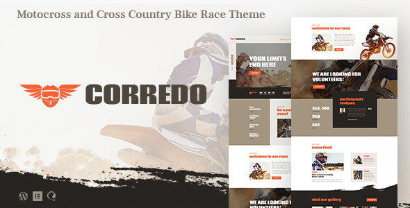 Corredo | Bike Disappear & Sports actions Occasions WordPress Theme – WP Theme Download