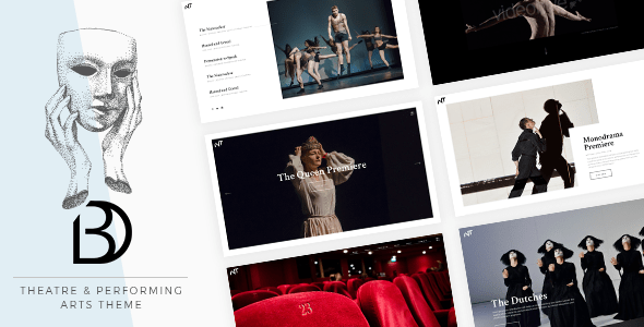 Bard – A Theatre and Performing Arts Theme – WP Theme Download