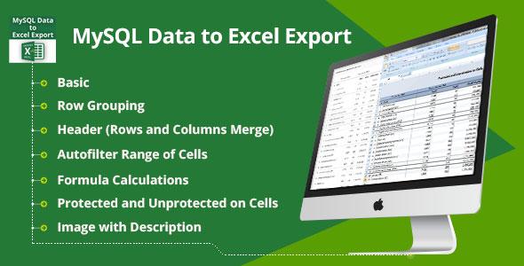 MySQL Data to Excel Export – PHP Script Download