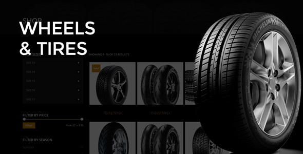 Wheels & Tires – WordPress Theme – WP Theme Download