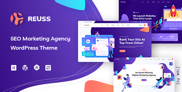 Reuss – Online page positioning Advertising and marketing and marketing Agency WordPress Theme  – WP Theme Download