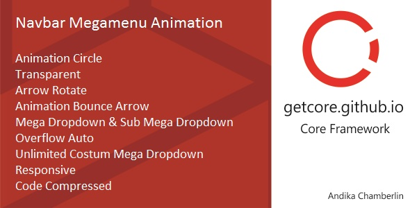Navbar Mega Menu Animation – PHP Script Download