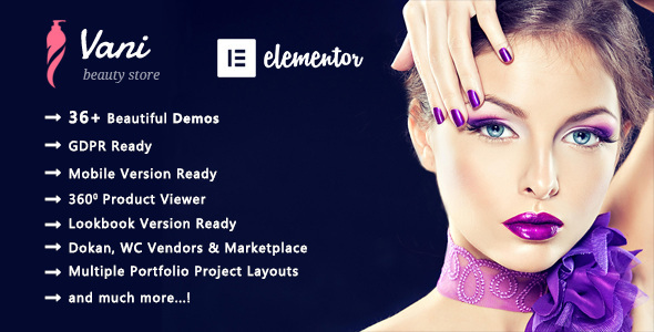 Vani | Beauty Beauty WooCommerce WordPress Theme  – WP Theme Download