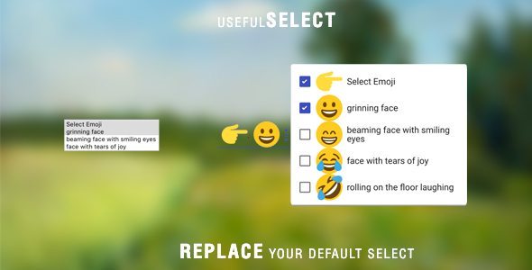 usefulSelect – Replace your Default Buy out Designate – PHP Script Download