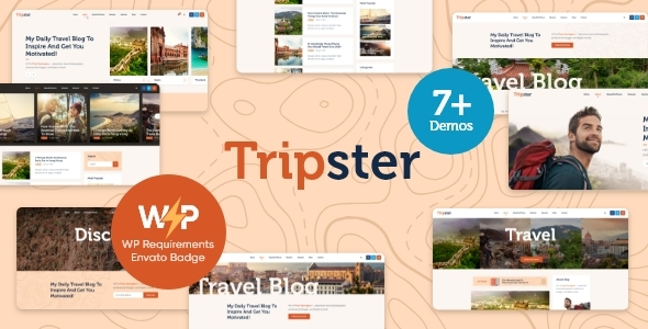 Tripster – Stride & Lifestyle WordPress Blog  – WP Theme Download