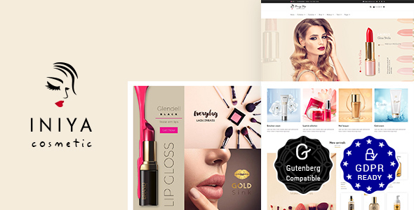 Iniya – Elegance Retailer, Cosmetic Store WordPress Theme  – WP Theme Download