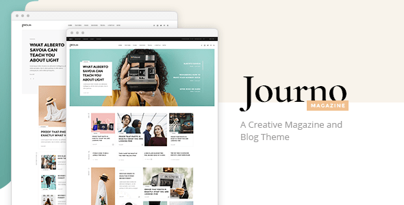 Journo – Ingenious Journal & Blog Theme  – WP Theme Download