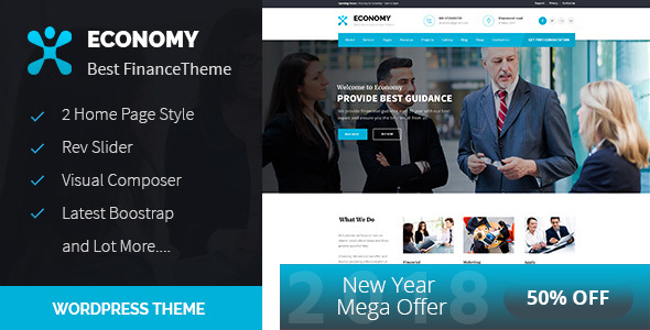 Economic system – Finance & Substitute WordPress Theme  – WP Theme Download