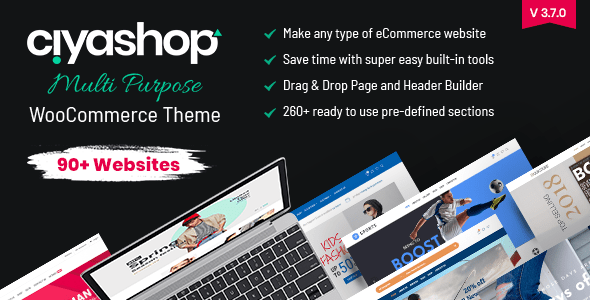 CiyaShop – Responsive Multi-Aim WooCommerce WordPress Theme  – WP Theme Download
