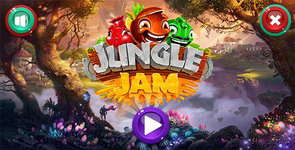 JUMGLE JAM – GAME HTML5  – PHP Script Download