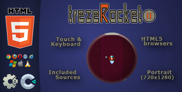 trezeRocket2 – HTML5 Potential Sport  – PHP Script Download