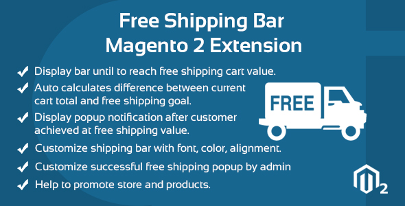 Free Transport Bar Magento 2 Extension  – PHP Script Download