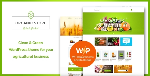 Natural Retailer | Eco Merchandise Store WordPress Theme + RTL  – WP Theme Download