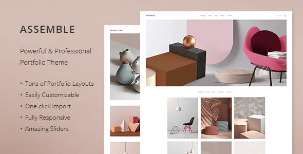 assemble portfolio theme download